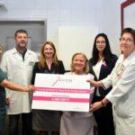 Közel 7 millió forint adományt kapott a kórház egyik osztálya