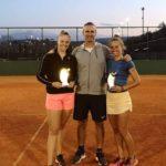 Egy fiatal szentesi teniszező kiugró sikere