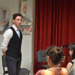 """A """"Zsoldos"""" diákjainak zenés-irodalmi estje a könyvtárban"""