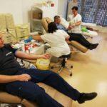 Vért adnak a tűzoltók Csongrád megyében