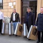 A megyei önkormányzat adománya a HMG-nak – hangzó bejátszásokkal
