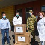 Újabb védőfelszerelések a szentesi kórháznak