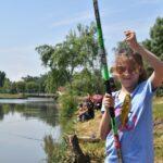 Rekord számú versenyző a gyermeknapi horgászversenyen