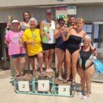 A szenior úszó OB-n 3. lett a szentesi csapat
