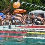 A szenior úszók elkezdték a versenyzést
