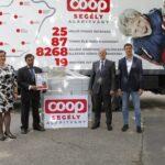 Élelmiszereket adományoz országszerte a kereskedelmi csoport