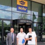 Egyeztetés a MÁV-nál – szentesi vasút-ügyekben
