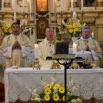 Beer püspök Szentesen misézett
