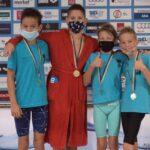 Jól szerepeltek a szentesi úszók a rövidpályás Hód Kupán