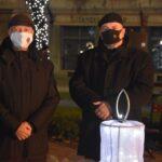 Meggyújtották a második gyertyát a városi adventi koszorún