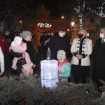 Meggyújtották a negyedik gyertyát a városi adventi koszorún