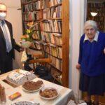 90 éves lett 'Erzsi néni'