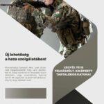 Munkalehetőség: speciális önkéntes területvédelmi tartalékos katonai szolgálati forma