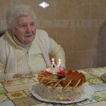 90 éves szépkorú köszöntése