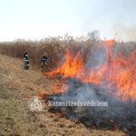 Tűz, nádastűz, ellentűz – a szabadtéri tüzek oltását gyakorolták