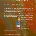 Kulturális Kalauz (I./9.) – A Szentesi Hangversenyközpontban…