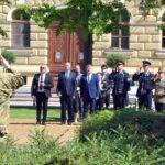 Koszorúzás a Magyar Hősök Napja tiszteletére