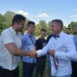 A STOPPER Koncz Zsolt, a Kinizsi labdarúgó csapatának vezető edzője