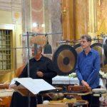 Amadinda koncert – a templomban