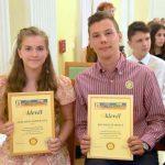 Tehetséges fiatalok elismerése