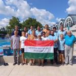 36 magyar bajnoki címet szereztek  a szentesi szenior úszók
