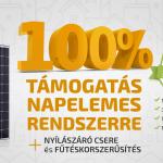 Indul a nagy lakossági pályázat! Közel 35 ezer háztetőre kerülhet ingyen napelem